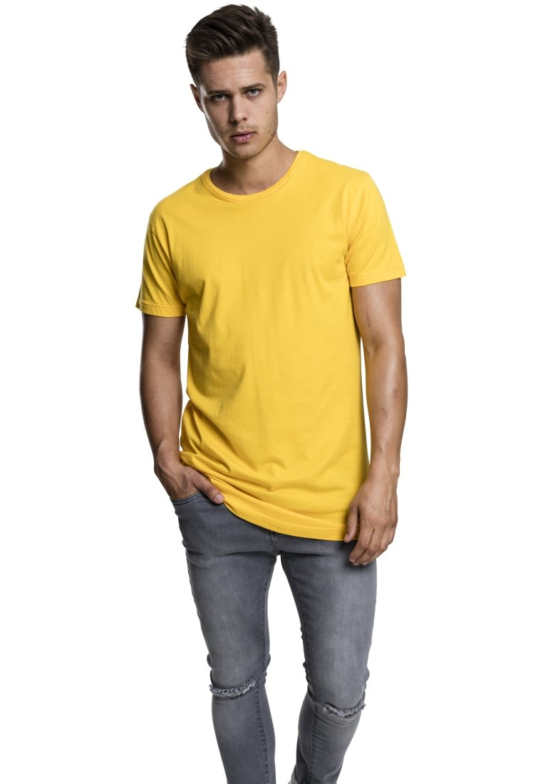 Classics Urban TeeT Shaped Long shirt Basique Powderyellow qSUzVpM