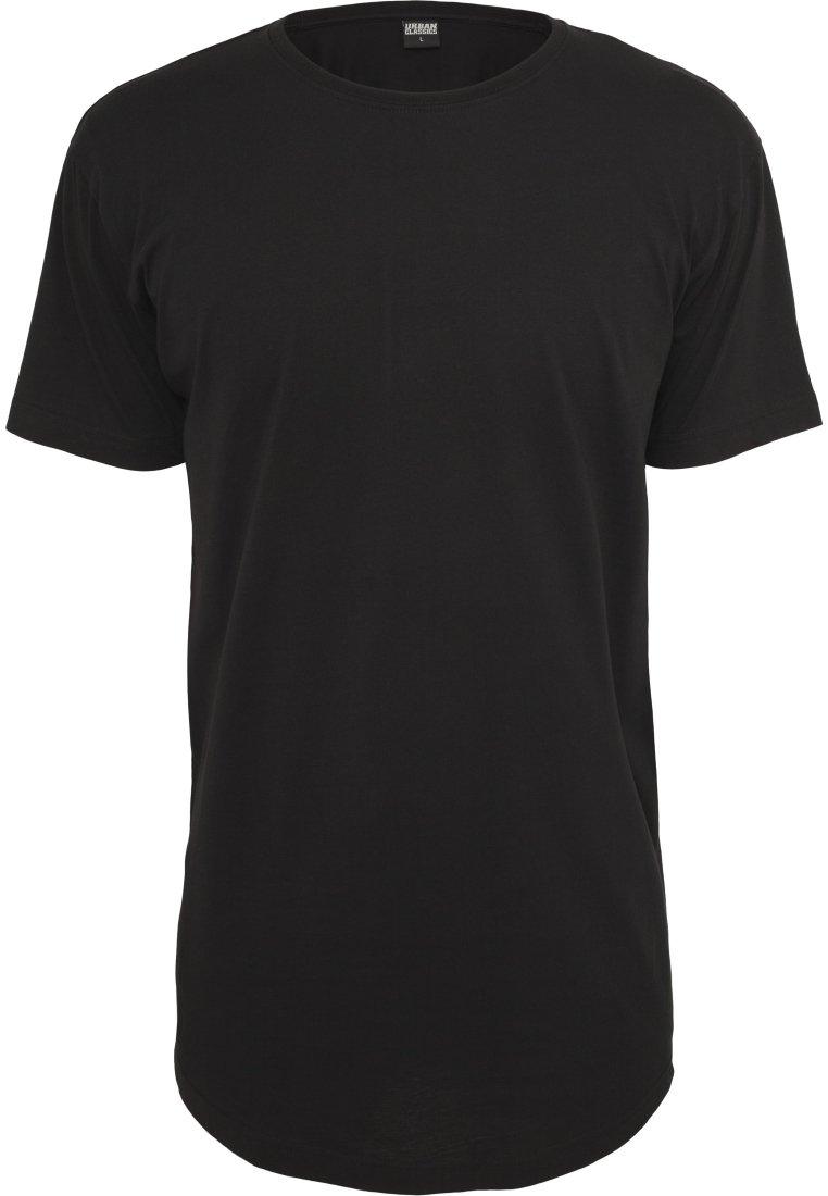 Urban Classics Shaped Long Tee - T-shirt Basique Black