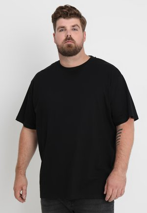 HEAVY OVERSIZED TEE  - T-paita - black