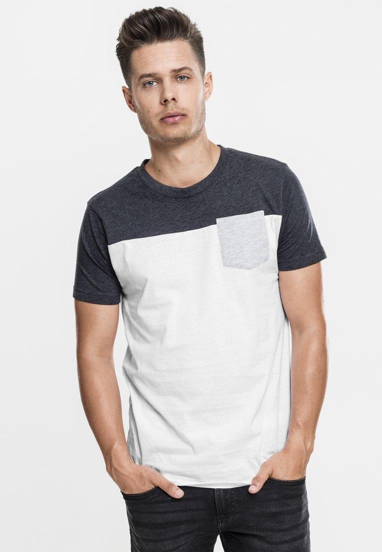 Urban grey shirt T ImpriméWhite Classics l5K1cFTJu3