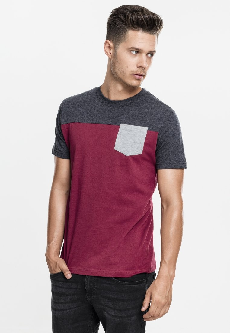 Shirt Classics T grey print Urban red bvY7gf6y