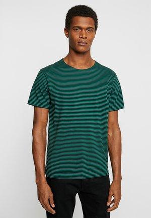 YARN DYED BABY  - T-shirt z nadrukiem - dark fresh green/black