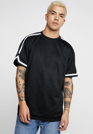 OVERSIZED TEE - T-shirt - bas - black