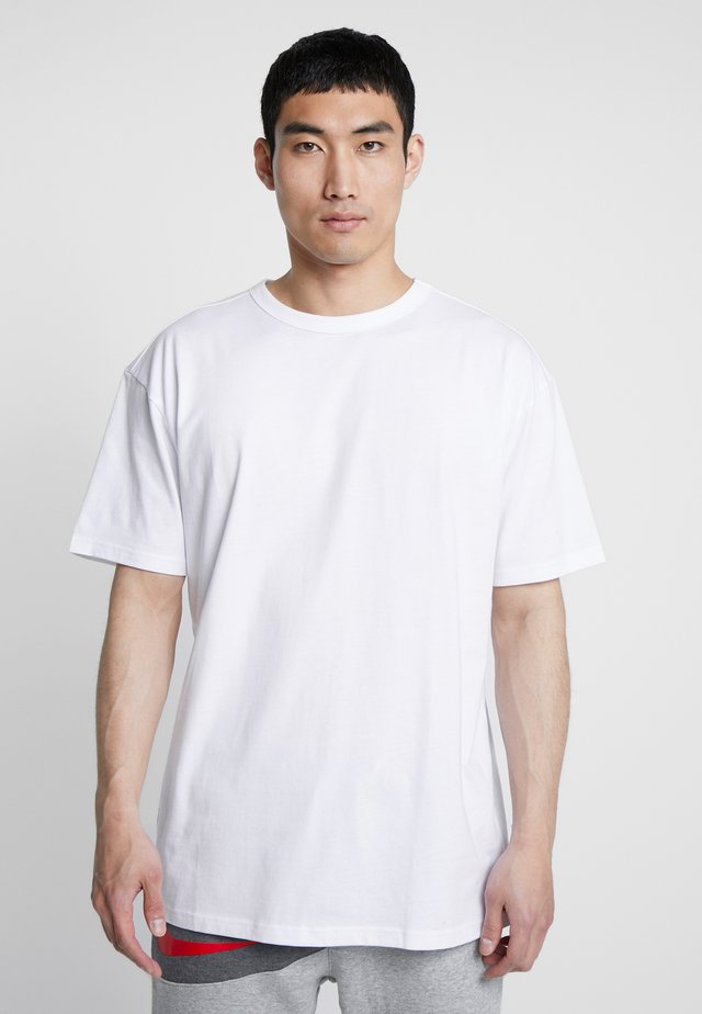 ORGANIC BASIC TEE - T-shirts - white
