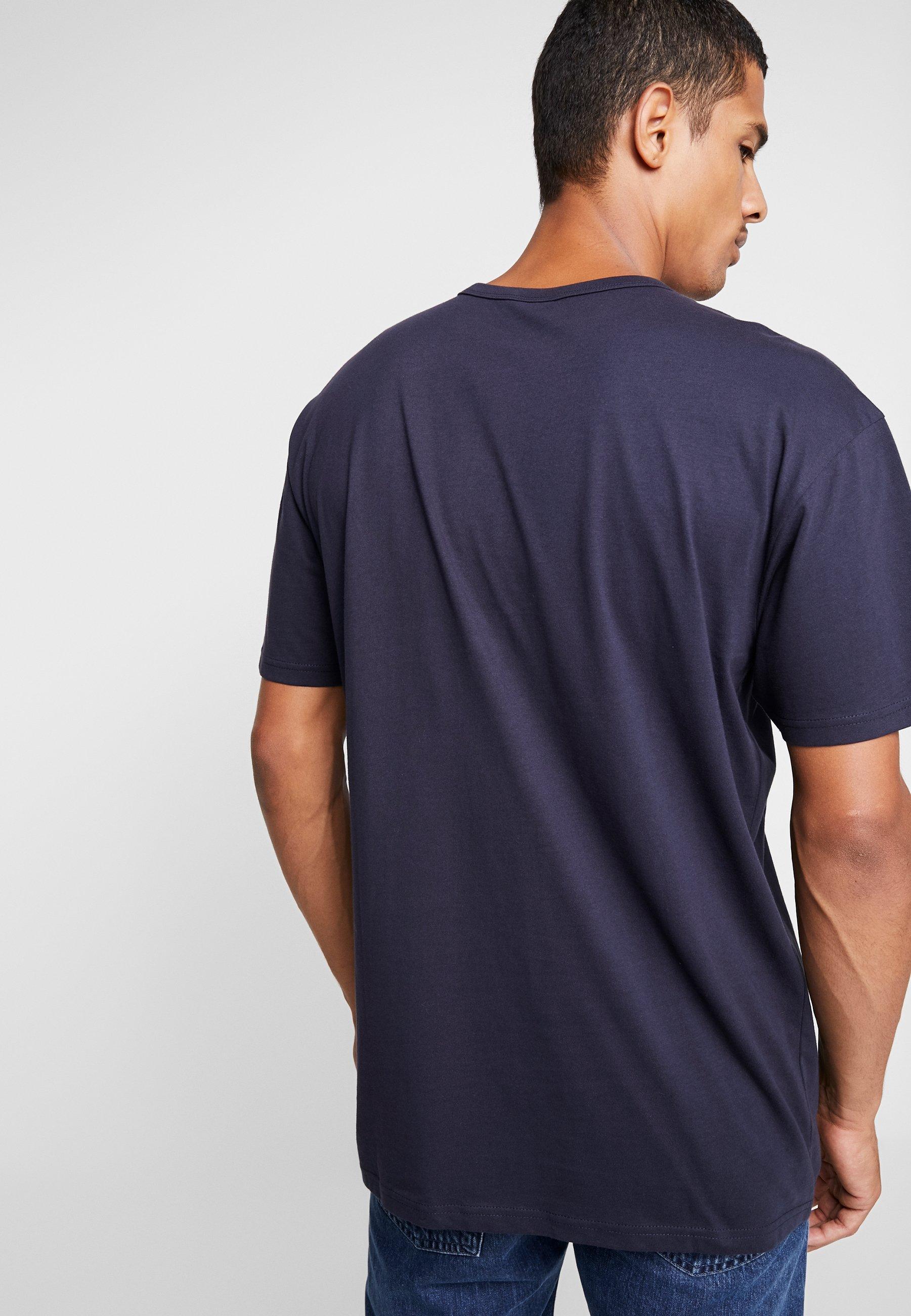 Organic Basic Urban Midnightnavy TeeT Classics shirt Basique W2DHE9IY