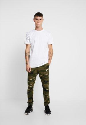 BASIC TEE 2 PACK - Basic T-shirt - black/white