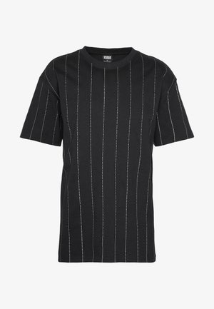 OVERSIZED TEE - T-shirt con stampa - black