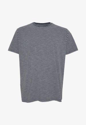 BASIC STRIPED TEE - Camiseta estampada - charcoal