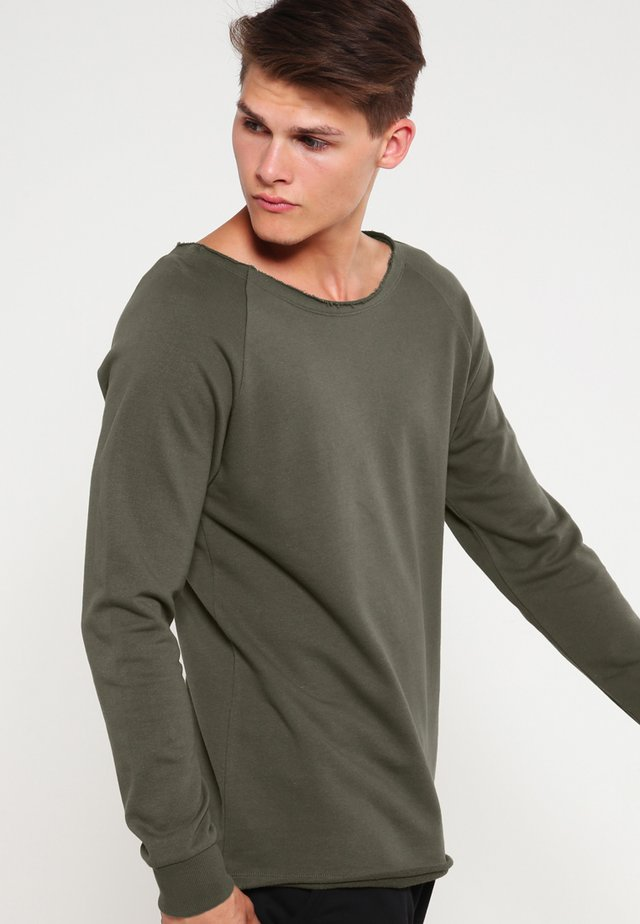 TERRY - Sweatshirt - olive