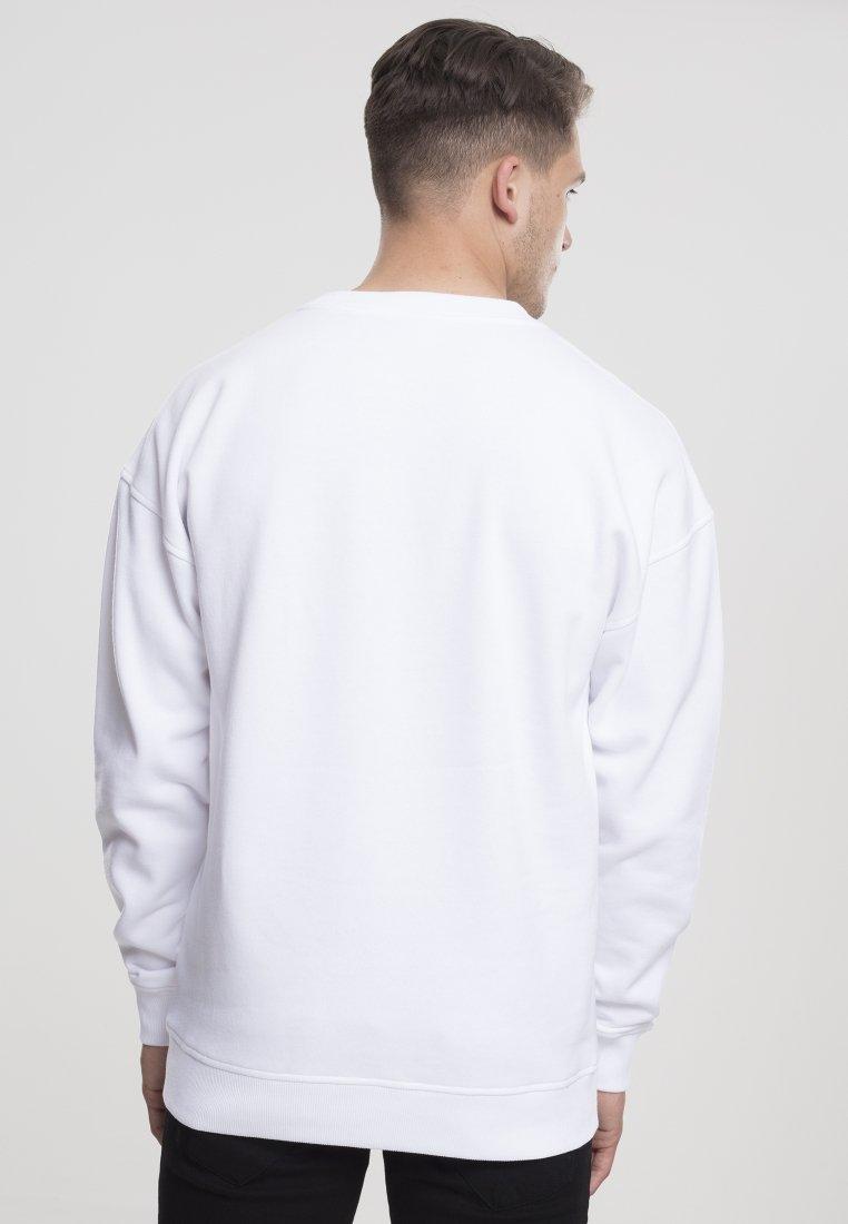 Urban Classics - CREWNECK - Collegepaita - white
