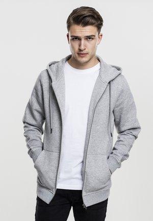 BASIC - Zip-up hoodie - grey