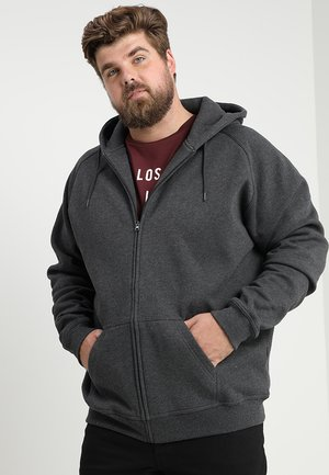 ZIP HOODY - Zip-up hoodie - charcoal
