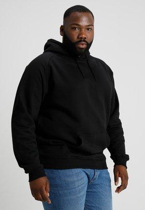 BLANK HOODY - Hoodie - black