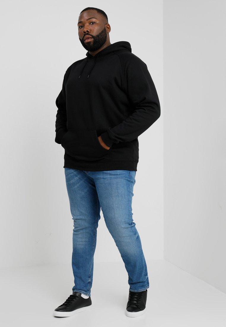Urban Classics BLANK HOODY - Sweat à capuche - black