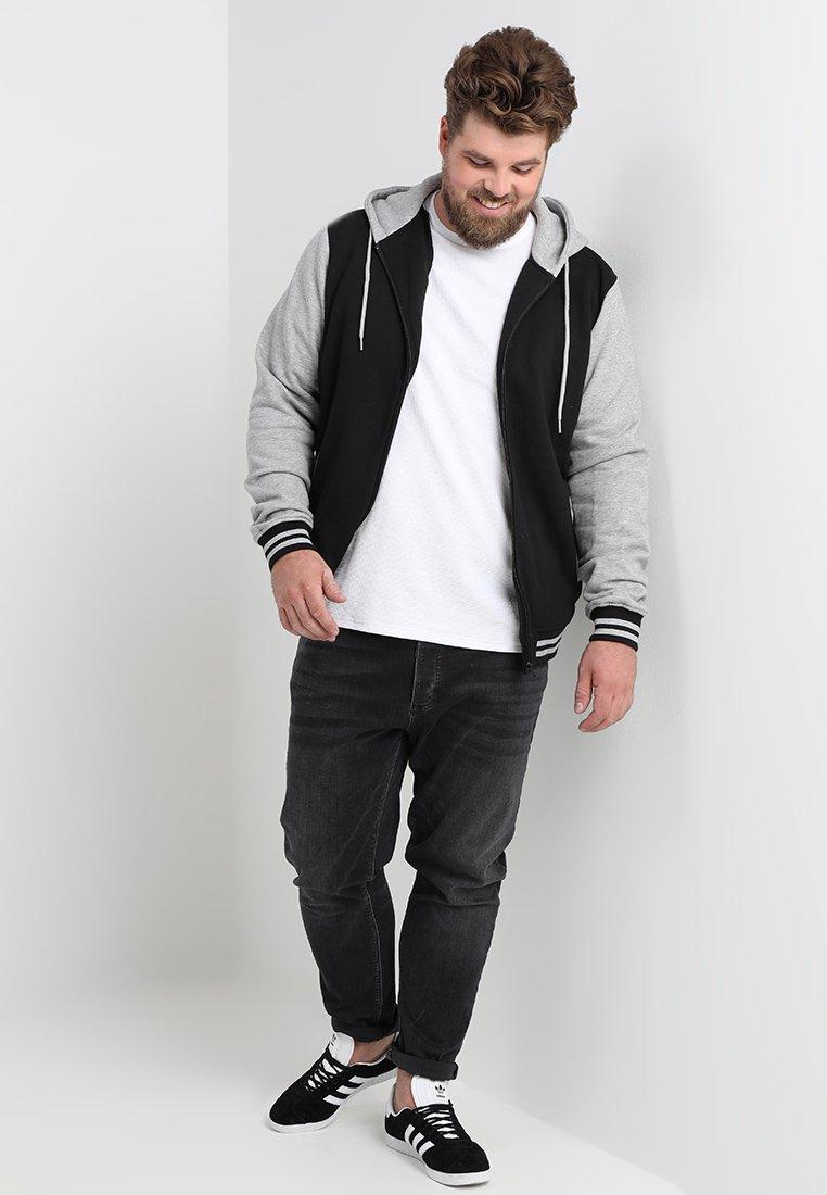 Urban Classics 2 TONE ZIP HOODY veste en sweat zippée