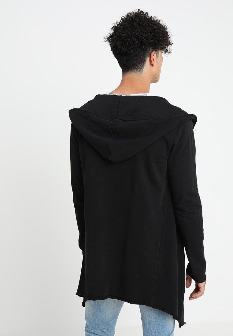 En Open Sweat Long Hooded EdgeVeste Classics Urban Zippée Black qVMpLGSUz