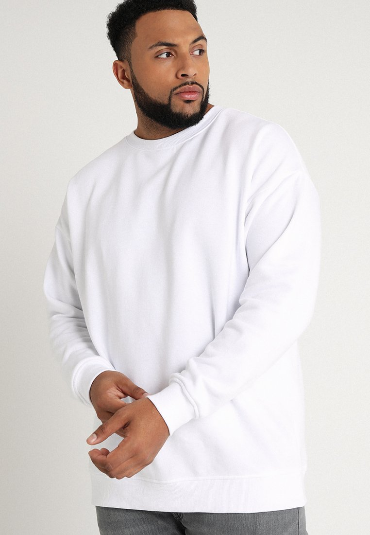 Urban Classics - CREW NECK - Sweatshirts - white