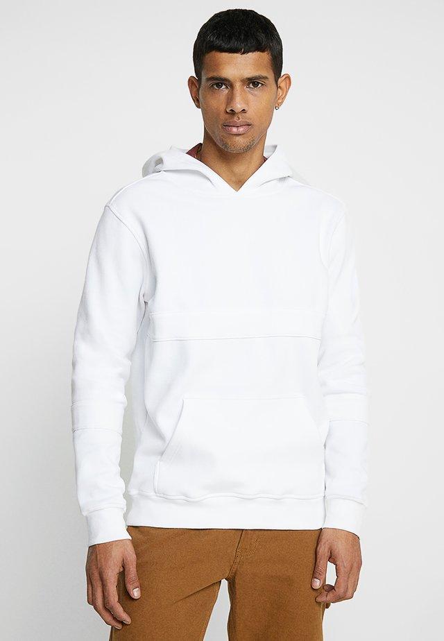 HEAVY HOODY - Jersey con capucha - white