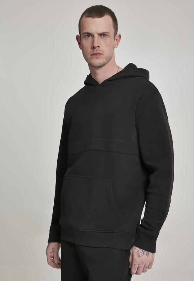 HEAVY HOODY - Jersey con capucha - black