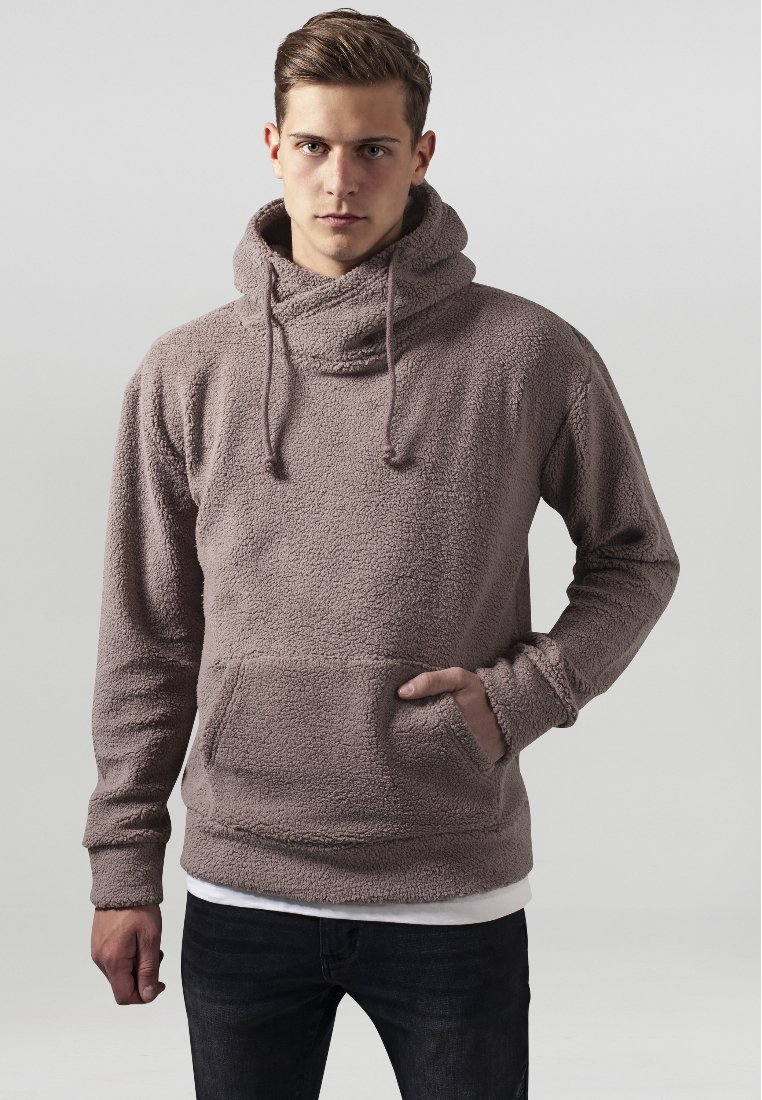 Urban Classics - Fleece trui - taupe