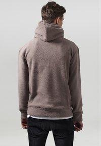 Urban Classics - Fleece trui - taupe - 1