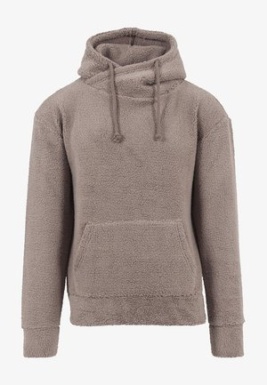 Fleece trui - taupe