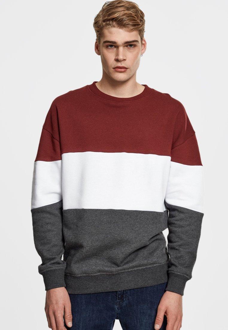 Urban Classics Sweatshirt red