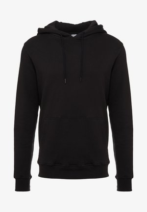 BASIC HOODY - Bluza z kapturem - black