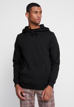 BASIC HOODY - Luvtröja - black