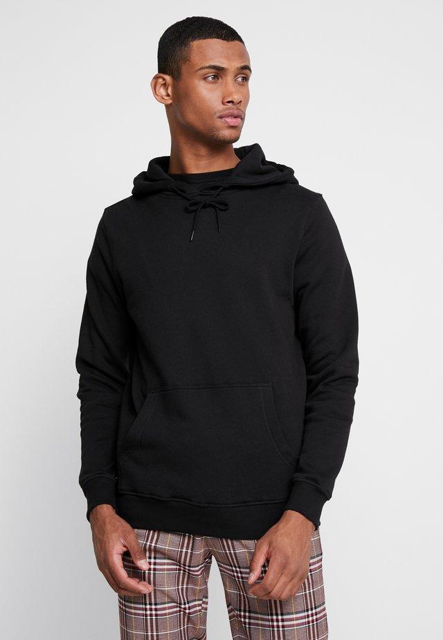 BASIC HOODY - Jersey con capucha - black