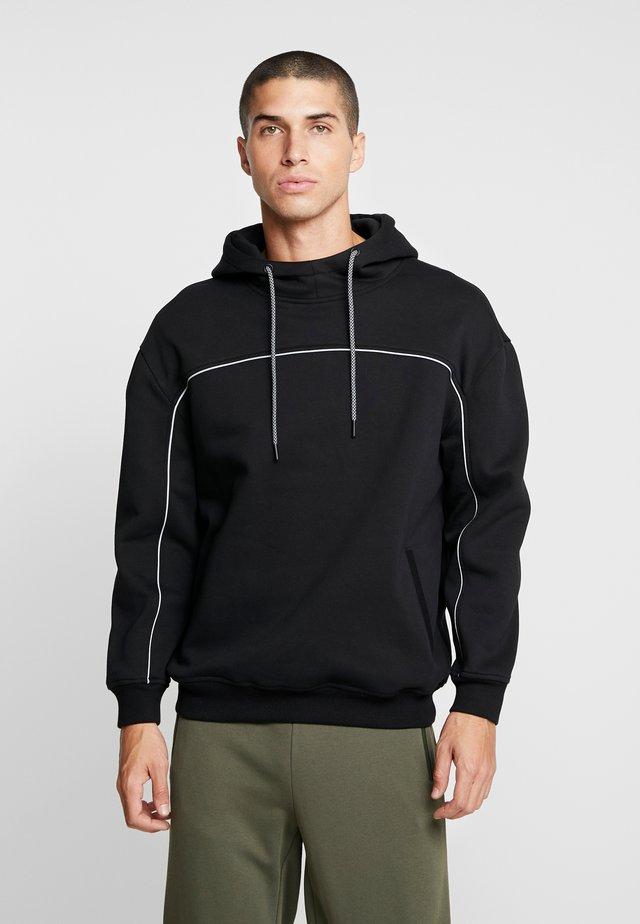 REFLECTIVE HOODY - Jersey con capucha - black