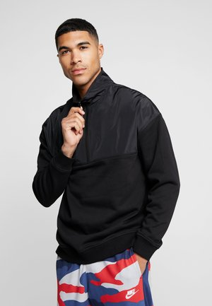 MILITARY TROYER - Sweater - black