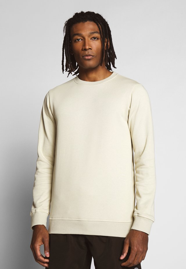 BASIC CREW - Sweatshirt - concrete
