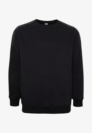 MILITARY SHOULDER CREW  - Sweater - black