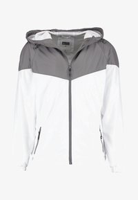 Urban Classics - TONE TECH - Outdoor jacket - darkgrey/white