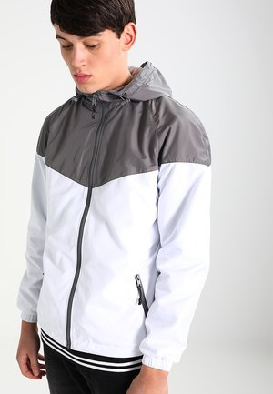 TONE TECH - Outdoor jacket - darkgrey/white