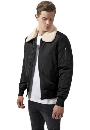 PILOT BOMBER JACKET - Bomberjacks - black