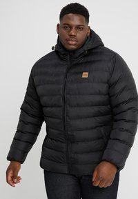 Urban Classics - BASIC BUBBLE JACKET - Zimní bunda - black - 0