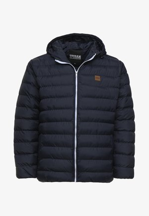 BASIC BUBBLE JACKET - Veste d'hiver - navy/white/navy