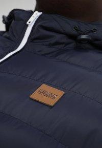 Urban Classics - BASIC BUBBLE JACKET - Winter jacket - navy/white/navy - 3