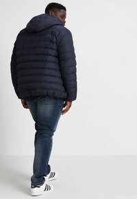 Urban Classics - BASIC BUBBLE JACKET - Winter jacket - navy/white/navy - 2