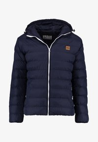 Urban Classics - BASIC BUBBLE JACKET - Giacca invernale - navy/white/navy - 4