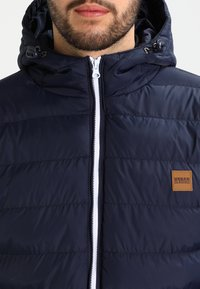 Urban Classics - BASIC BUBBLE JACKET - Giacca invernale - navy/white/navy - 3