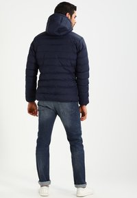 Urban Classics - BASIC BUBBLE JACKET - Giacca invernale - navy/white/navy - 2