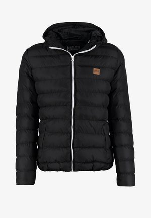 BASIC BUBBLE JACKET - Winterjacke - black/white/black