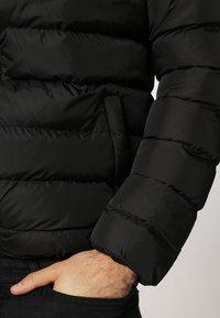 Urban Classics - BASIC BUBBLE JACKET - Veste d'hiver - black/white/black - 6
