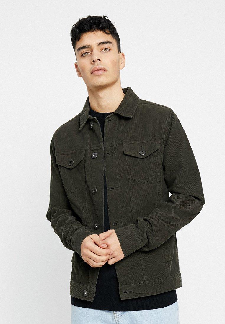 Urban Classics - CORDUROY JACKET - Summer jacket - darkolive