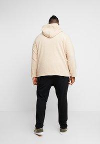 Urban Classics - HOODED ZIP JACKET - Summer jacket - darksand - 2