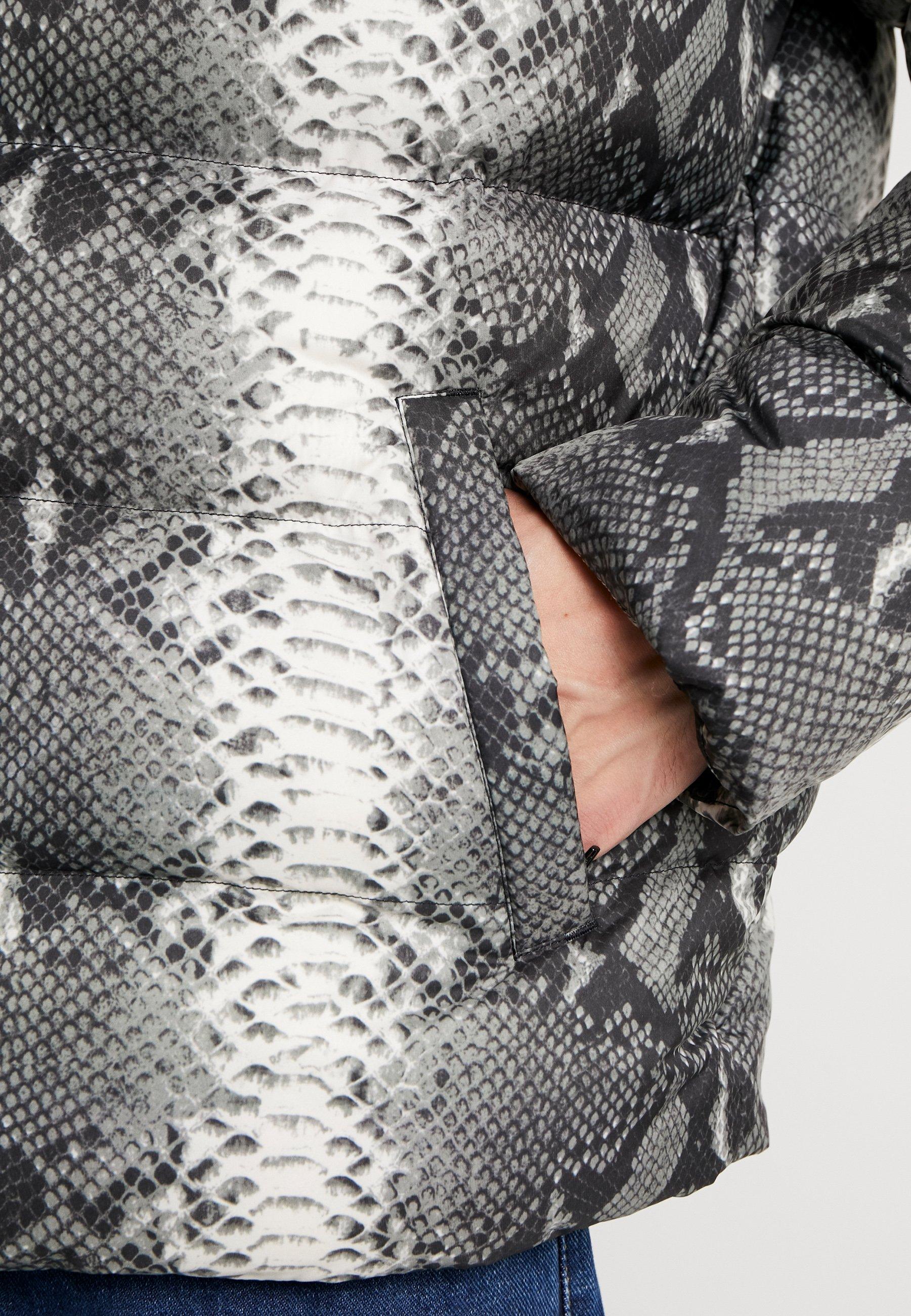 JacketGiacca Invernale Hooded Urban Puffer Classics Greysnake orCxedWQB