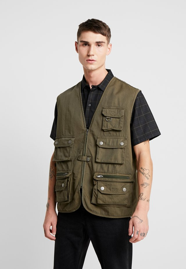 WORKER  - Veste - dark olive